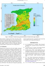 Trinidad Map Soil Physical Properties As Predictors Of Soil Strength Indices