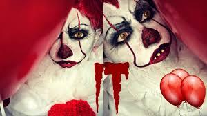 it pennywise 2017 halloween makeup youtube