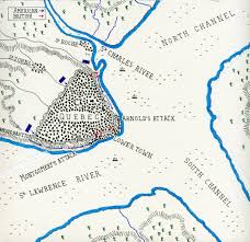 Lexington And Concord Map Battle Of Quebec 1775