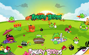 angry birds seasons party uhd desktop wallpaper for