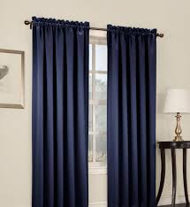Eclipse Nursery Curtains Curtain Navy Blackout Curtains Deconovo Blue Eclipse