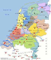 netherlands map map of the netherlands netherlands travel guide eupedia