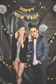 new years party backdrops black gold and white backdrop nye gatsby deco speakeasy