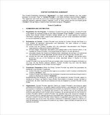 10 distribution agreement templates u2013 free sample example