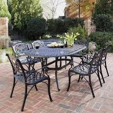 Oval Wrought Iron Patio Table Nice Cast Iron Patio Furniture Wrought Dining Table Otdoor With