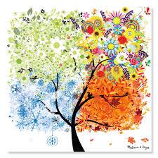 8974 200pc seasons tree cardboard jigsaw puzzle by doug