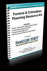 funeral planning checklist resource kit families funeral care cremation center