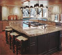 House Design With Kitchen Kitchen Island Designs With Seating And Stove Dream House Ideas