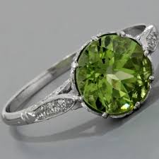 peridot engagement rings fay cullen archives rings peridot engagement ring