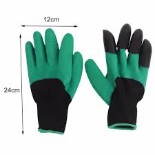 gardening gloves with claws home outdoor decoration