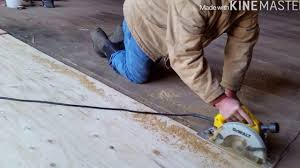 Barn Floor Replacing Part Of A Tongue And Groove Barn Floor Youtube