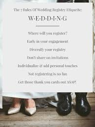 can you register for wedding gifts online the 7 of wedding registry etiquette blueprint registry guides