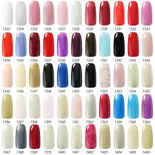 199 colors nail polish gel 15ml ido 1557 kit nails gel soak off uv