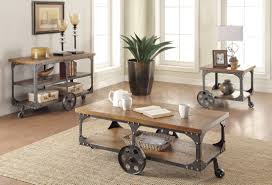 Sofa Table Dimensions Coffee Side U0026 End Tables Rustic Wood U0026 Metal Sofa Table Coa