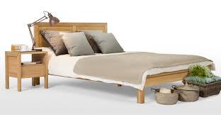 ledger double bed oak made com