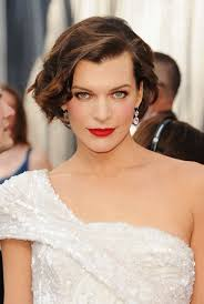 edgy bob hairstyle elegant edgy bob hairstyle for women milla jovovich s short
