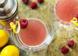 blushing meyer lemon drop martini just a little bit of bacon