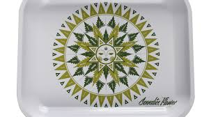cannabis flower olfactory chart serving tray by mary u0027s violet eyes