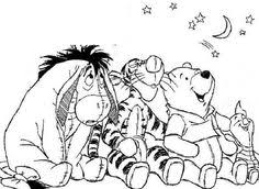 winnie pooh color number disney coloring pages free
