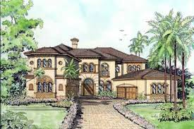 italian home plans italian mediterranean house plan 55786 triplex house plans