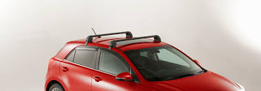 Roof Bars For Kia Sportage 2012 by All New Rio Accessories Small Cars Kia Motors Australia
