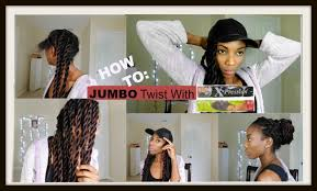 how many packs of expression hair for twists jumbo twist with xpression hair tutorial 3 easy protective