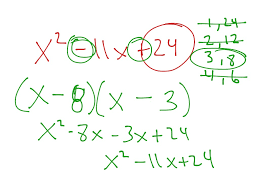 showme section 10 5 factoring polynomials of the form x 2 bx c