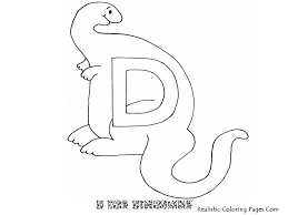 d letters alphabet coloring pages realistic coloring pages