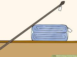 How To Make Swag Curtains How To Hang A Curtain Swag 9 Steps With Pictures Wikihow