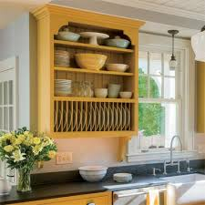 All About Kitchen Cabinets Plate Racks Shelves And Dishes - Kitchen cabinet without doors