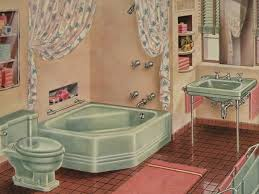 1940 homes interior 1940 bathroom design cats dogs and eiderdowns the 1940 u0027s