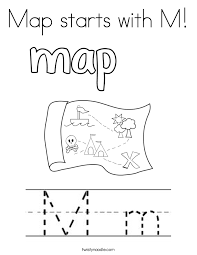 Letter M Coloring Pages Twisty Noodle Of Sheet We Are All M Coloring Pages