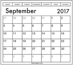 blank september 2017 calendar template in ms excel word pdf print