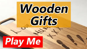 wood gift ideas for wife youtube