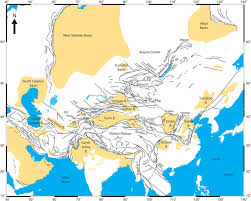 Karakoram Range Map Mesozoic Tectonic And Topographic Evolution Of Central Asia And