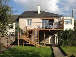 terrasse suspendue en bois aménagement extérieur et création d u0027une terrasse bois suspendue