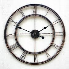 wall clocks country style metal wall clock country decor wall