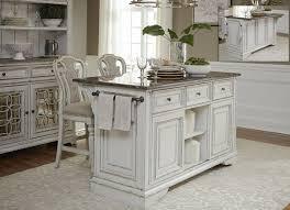 antique white kitchen island magnolia manor antique white kitchen island set from liberty