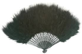 feather fan zucker feather tm marabou feather fan black