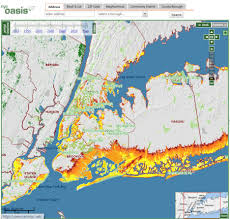 nyc oasis map coastal impact risk mapped in nyc spatiality