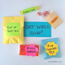 get well soon package diy get well soon package gift craft and crafty