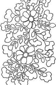 Flower Designs For Embroidery Pattern For Bauernmalerei By Juliet Folk Art Pinterest
