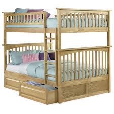 Wooden Bunk Bed With Futon Bedroom Comfort Bed Design Ideas With Walmart Bunk Beds Twin Over