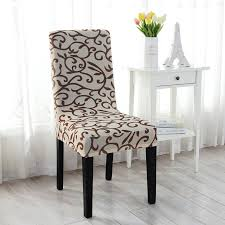 Dining Chair Protective Covers Vine Flower Pattern Printed Chair Cover Seat Covers Home