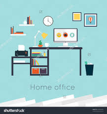 Home Interior Design Vector by Home Office Interior Designs Vintage Decor Office With Wooden