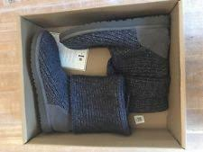 s cardy ugg boots grey navy blue uggs clothing shoes accessories ebay
