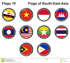 How To Draw Country Flags South East Asia Flag Illustration Royalty Free Illustration