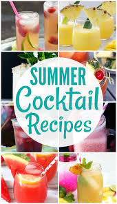 Summer Cocktail Summer Cocktail Recipes Create Link Inspire Party Happy Go Lucky
