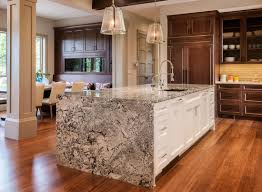 Bianco Antico Granite With White Cabinets Charming White Floating Wood Cabinet Stainless Steel Range Hood