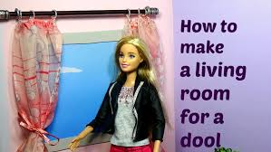 Make A Room How To Make A Living Room For Doll How To Make A Room For Doll Diy